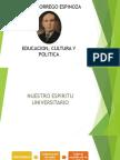 Educacion Cultura y Politica Antenor Orrego