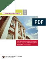 Leadership Development Brochure