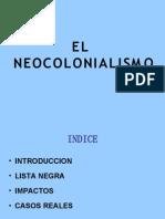 Neocolonialismo - Impactos y Casos