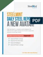 SteelMint Daily Steel Report as on 22 Oct 13