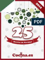 Recetario Navidad 2012