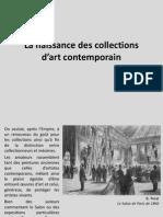 3. La Naissance Des Collections d'Art Contemporain