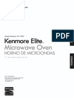 79202Kenmore Elite Microwave 79202 White 2.0 cu.ft.1200 Watts Brand New In The Box