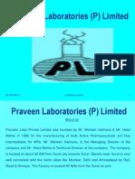 Praveen Labs (P) Ltd Company Profile
