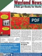 The Wayland News October 2013