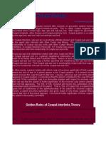Cuspal Interlinks Theory