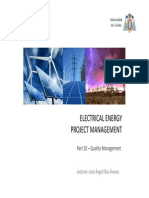 CEESP Electrical Energy Project Management 10 Quality Management
