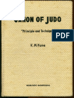 Canon of Judo by K Mifune