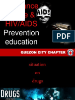 Drug Abuse and HIV-AIDS Prevention Education