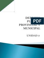 Dcho. Publ. Prov. y Munic.(Unid 9)