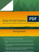 India World Habitat 2025 -Gautam Kirtane