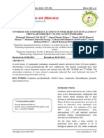 Synthesis and Antioxidant Activity of Some Derivatives of 2 2 Oxo 4 Phenyl 2h Chromen 7 Yloxy Aceto Hydrazide