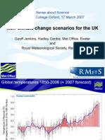 GeoffJenkins , New Climate Change Scenarios