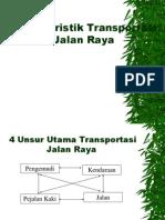 KarakteristikTransportasi Jalan Raya