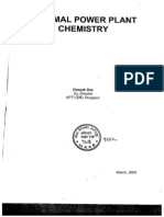 Thermel Power Plant Chemistry