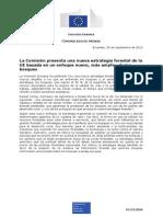 Nota de Prensa. Nueva Estrategia Forestal UE.
