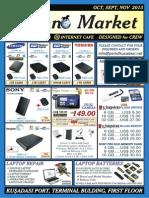 Kusadasi Port Techno Market September Flyer