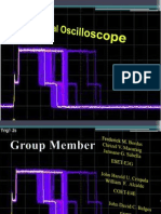 presentation in oscilloscope