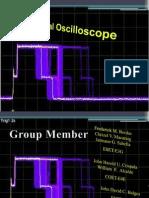 presentation in oscilloscope