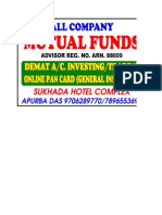 Mutual fund calc