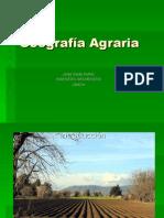 Geografía Agraría