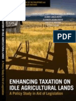 Enhancing Taxation on Idle Agricultural Lands (2008)