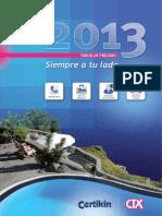 Tarifa CTK 2013