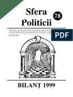 Sfera Politicii 78, 2000