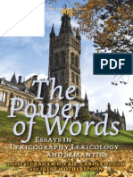 The Power of Words Essays
