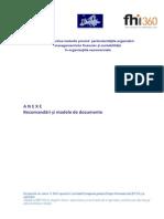 ECNL Anexe Ghid Privind ONG Particularitatile Organizarii Managementului Financiar Si Contabilitatii