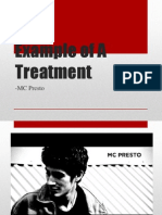 Example of a Treatment