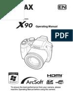 Manuel Pentax x90