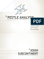 Pestle Analysis of continents
