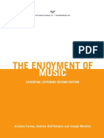 Kristine Forney, Andrew DellAntonio, Joseph Machlis the Enjoyment of Music 2013
