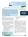 A Review of Phytochemistry and Pharmacology of Flavonoids