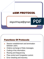 GSM PROTL with full gsm architecture