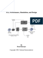 PLL Performance, Simulation and Design