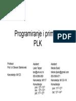 Progamiranje PLC CoDeSys