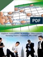 La Gestion  Stratégique des Entreprises Ch8