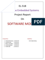 Project Report on Software modem