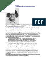 Antje Schrupp Simone Weils Plädoyer für die Abschaffung der politischen Parteien