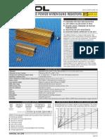 Id 07945 - Power Wirewound Resistors