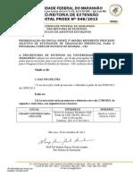 Edital Nº 0482013 Prorrogação CEI
