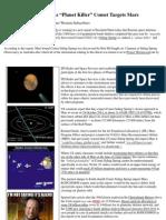 Insider News - 1708 - Russia Goes on Alert as 'Planet Killer' Comet Targets Mars