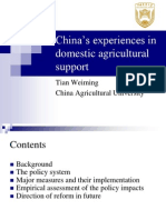 Food Security in China