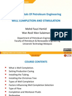 Well Completion Simulation