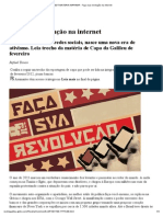 Revista Galileu - EDT MATERIA IMPRIMIR - Faça sua revolução na internet