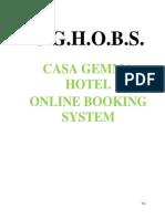 Casa Gemma Documentation Sept 23