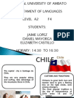 Exposicon de Ingles de Chile