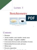 Stoichometry